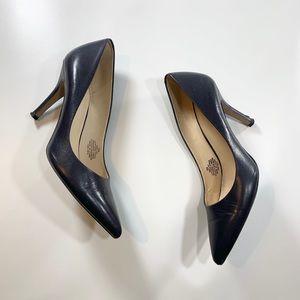 Nine West | Navy Blue Heels Size 6M